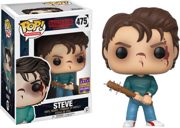 Pop! Television: Stranger Things - Steve (Summer Convention Exclusive 2017) - Mom's Basement Collectibles