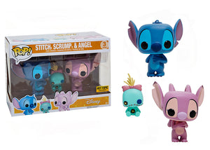 Pop! Disney - Stitch, Scrump, & Angel 3 Pack (Hot Topic Exclusive) - Mom's Basement Collectibles