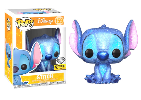 Pop! Disney - Stitch [Diamond] (Hot Topic Exclusive) - Mom's Basement Collectibles