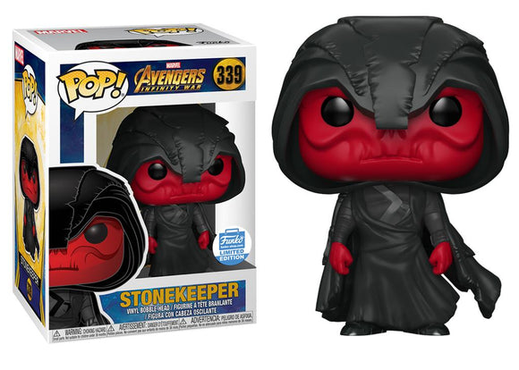 Pop! Marvel: Avengers Infinity War - Stonekeeper (Funko Shop Exclusive) - Mom's Basement Collectibles