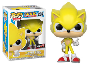 Pop! Games: Sonic the Hedgehog - Super Sonic (Gamestop Exclusive) - Mom's Basement Collectibles