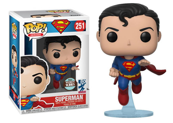 Pop! Heroes - Superman [80 Years] (Funko Specialty Series) - Mom's Basement Collectibles