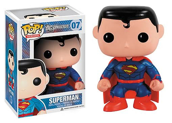Pop! Heroes - Superman [New 52] (PX Exclusive) - Mom's Basement Collectibles