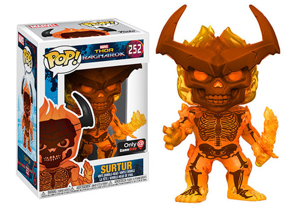 Pop! Marvel: Thor Ragnarok - Surtur (Gamestop Exclusive) *DAMAGED* - Mom's Basement Collectibles