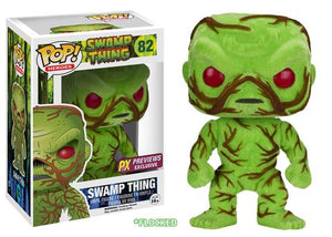 Pop! Heroes - Swamp Thing [Flocked/Scented] (PX Exclusive) - Mom's Basement Collectibles