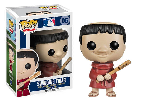 Pop! MLB - Swinging Friar - Mom's Basement Collectibles