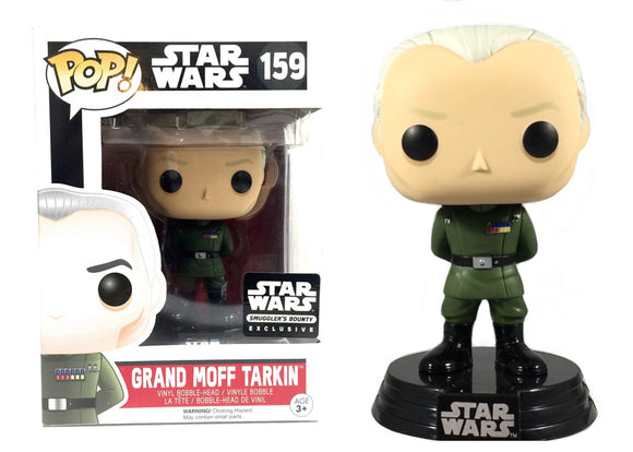 Pop! Star Wars - Grand Moff Tarkin (Smuggler's Bounty Exclusive) - Mom's Basement Collectibles