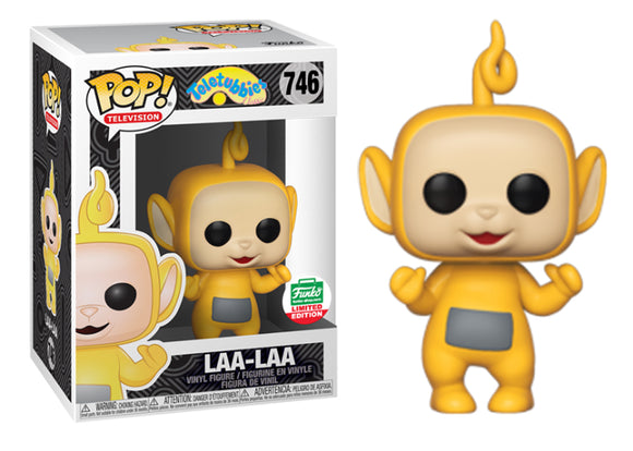 Pop! Television: Teletubbies - Laa-Laa (Funko Shop Exclusive) - Mom's Basement Collectibles