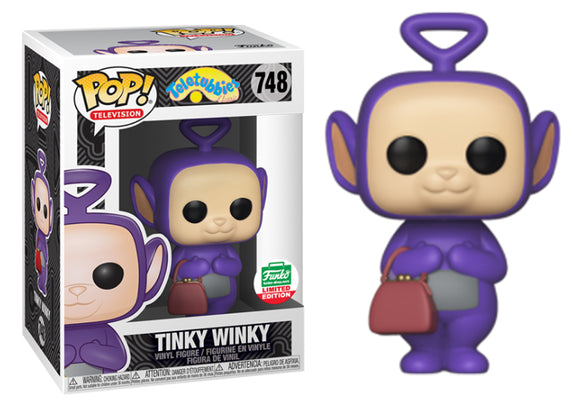 Pop! Television: Teletubbies - Tinky Winky (Funko Shop Exclusive) - Mom's Basement Collectibles