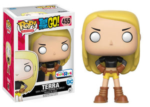 Pop! Television: Teen Titans Go! - Terra (Toys R Us Exclusive) - Mom's Basement Collectibles