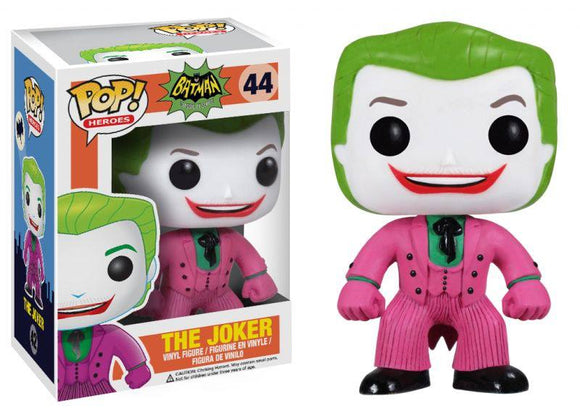 Pop! Heroes: Batman Classic TV Series - The Joker - Mom's Basement Collectibles
