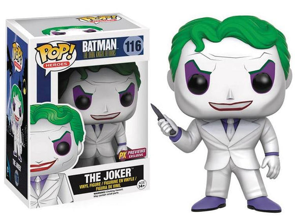 Pop! Heroes: Batman The Dark Knight Returns - The Joker (PX Exclusive) - Mom's Basement Collectibles