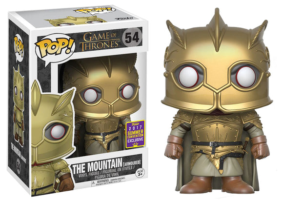 Pop! Television: Game of Thrones - The Mountain (Summer Convention Exclusive 2017) - Mom's Basement Collectibles