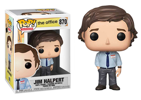 Pop! Television: The Office - Jim Halpert - Mom's Basement Collectibles