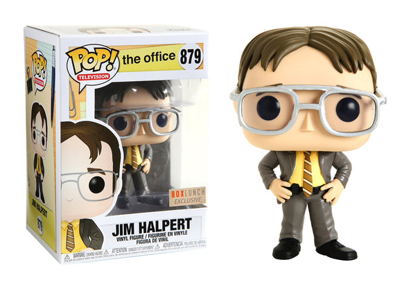 Pop! Television: The Office - Jim Halpert [Dwight] (Box Lunch Exclusive) - Mom's Basement Collectibles