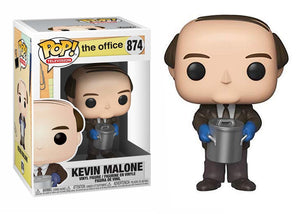 Pop! Television: The Office - Kevin Malone with Chili - Mom's Basement Collectibles