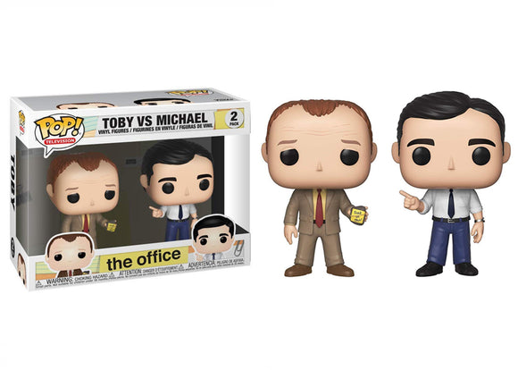 Pop! Television: The Office - Toby vs Michael 2 Pack - Mom's Basement Collectibles