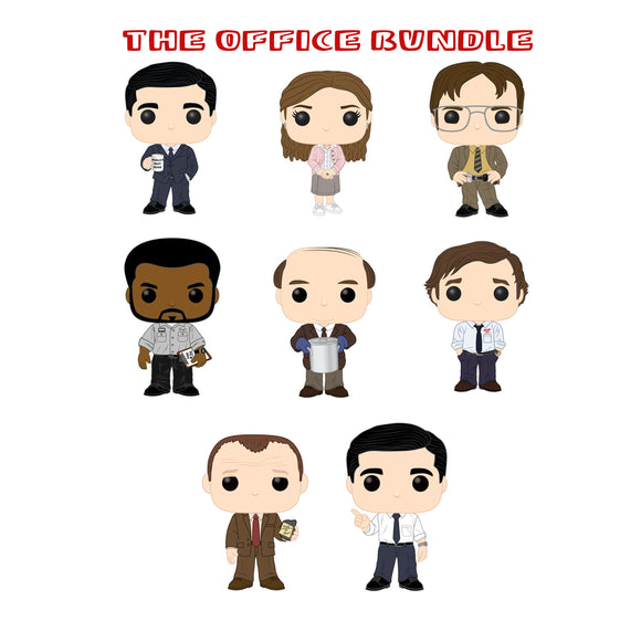 Bundle: Pop! Television: The Office Set - Mom's Basement Collectibles