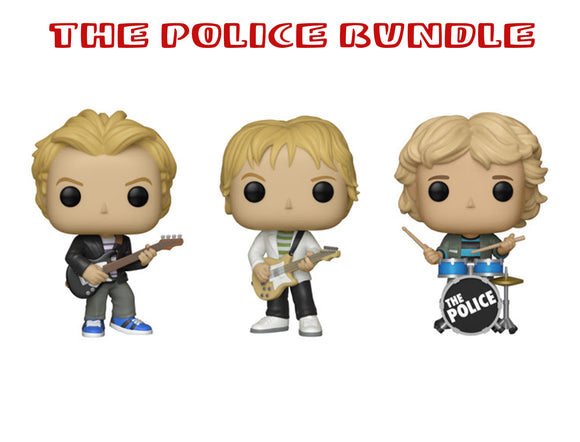 Bundle: Pop! Rocks: The Police Set - Mom's Basement Collectibles