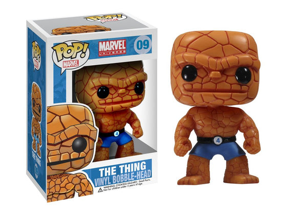Pop! Marvel - The Thing - Mom's Basement Collectibles