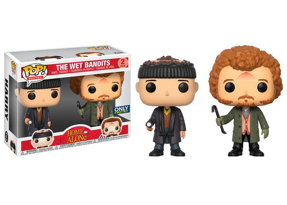 Pop! Movies: Home Alone - The Wet Bandits 2 Pack (Best Buy Exclusive) - Mom's Basement Collectibles