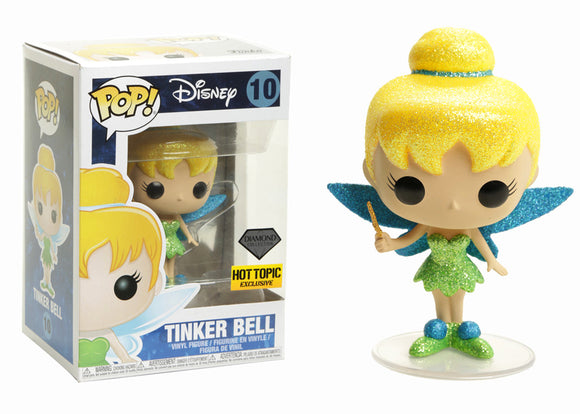 Pop! Disney - Tinker Bell [Diamond] (Hot Topic Exclusive) - Mom's Basement Collectibles