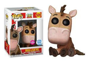 Pop! Disney: Toy Story - Bullseye [Flocked] (Funko Shop Exclusive) - Mom's Basement Collectibles