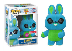 Pop! Disney: Toy Story 4 - Bunny [Flocked] (Target Exclusive) - Mom's Basement Collectibles