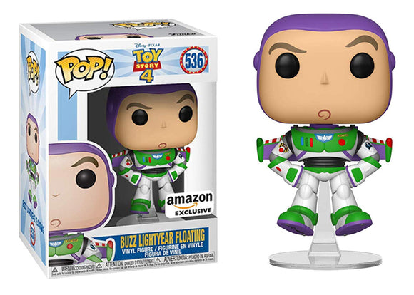 Pop! Disney: Toy Story 4 - Buzz Lightyear [Floating] (Amazon Exclusive) - Mom's Basement Collectibles