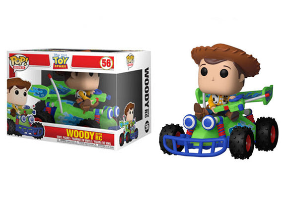 Pop! Rides: Toy Story - Woody with RC - Mom's Basement Collectibles