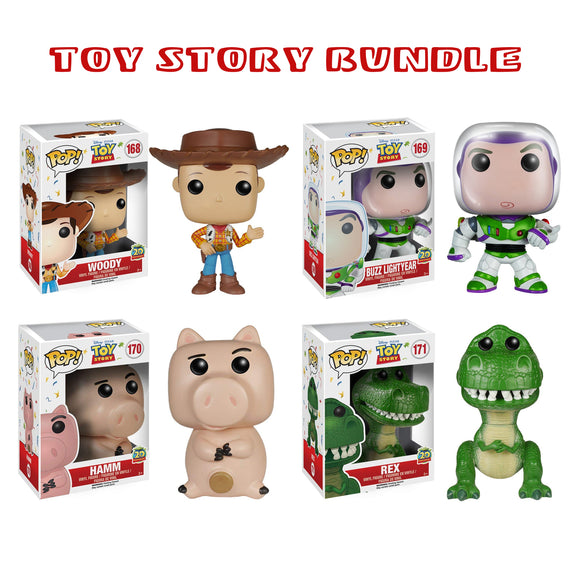 Bundle: Pop! Disney - Toy Story Set - Mom's Basement Collectibles
