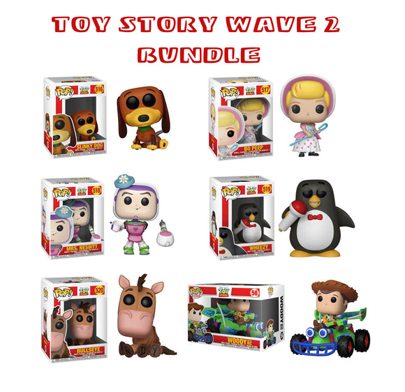 Bundle: Pop! Disney: Toy Story - Toy Story Wave 2 Set - Mom's Basement Collectibles