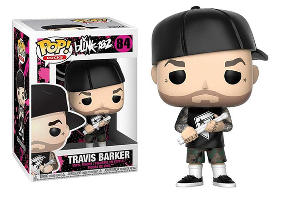 Pop! Rocks: Blink 182 - Travis Barker - Mom's Basement Collectibles