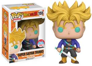 Pop! Animation: Dragon Ball Z - Super Saiyan Trunks (NYCC Exclusive 2016) - Mom's Basement Collectibles