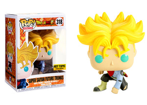 Pop! Animation: Dragon Ball Super - Super Saiyan Future Trunks (Hot Topic Exclusive) - Mom's Basement Collectibles