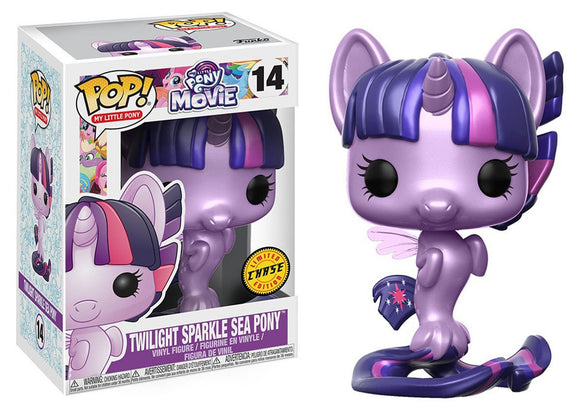 Pop! My Little Pony: My Little Pony The Movie - Twilight Sparkle Sea Pony (Chase) - Mom's Basement Collectibles