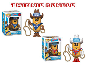 Bundle: Pop! Ad Icons - Twinkie The Kid CHASE - Mom's Basement Collectibles