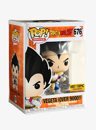 Pop! Animation: Dragon Ball Z - Vegeta [Over 9000!] (Hot Topic Exclusive) - Mom's Basement Collectibles