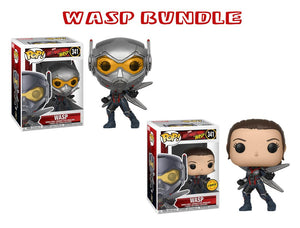 Bundle: Pop! Marvel: Ant Man & The Wasp - The Wasp CHASE - Mom's Basement Collectibles