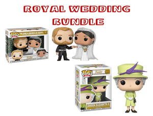 Bundle: Pop! Royals - Wedding Set - Mom's Basement Collectibles