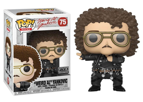 Pop! Rocks - Weird Al Yankovic (FYE Exclusive) - Mom's Basement Collectibles