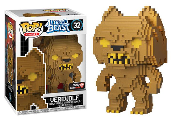Pop! 8-Bit: Altered Beasts - Werewolf (Gamestop Exclusive) - Mom's Basement Collectibles