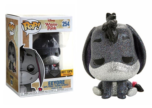 Pop! Disney: Winnie The Pooh - Eeyore [Diamond] (Hot Topic Exclusive) - Mom's Basement Collectibles