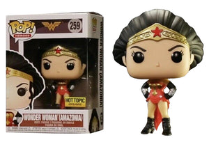 Pop! Heroes - Wonder Woman [Amazonia] (Hot Topic Exclusive) - Mom's Basement Collectibles