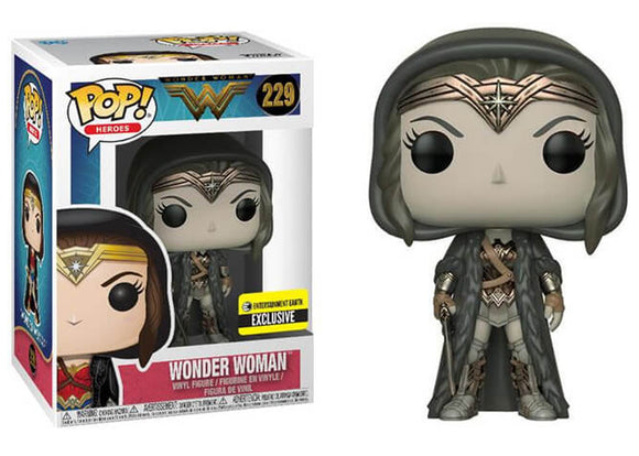 Pop! Heroes - Wonder Woman [Sepia] (Entertainment Earth Exclusive) - Mom's Basement Collectibles