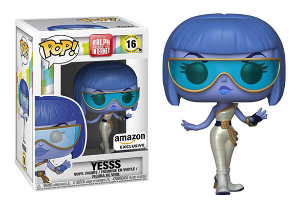 Pop! Ralph Breaks The Internet - Yesss (Amazon Exclusive) - Mom's Basement Collectibles