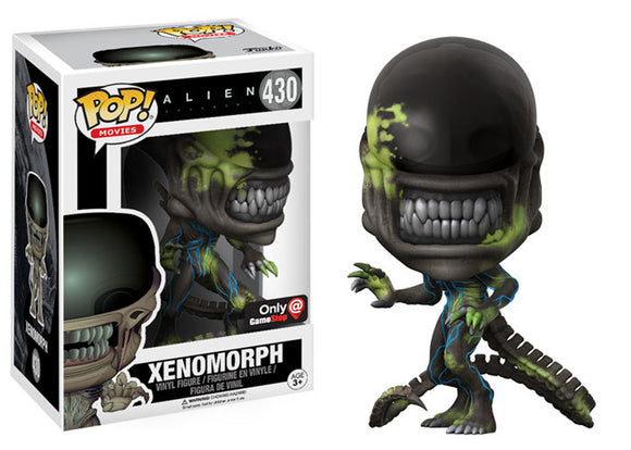 Pop! Movies: Alien Covenant - Xenomorph [Bloody] (Gamestop Exclusive) - Mom's Basement Collectibles