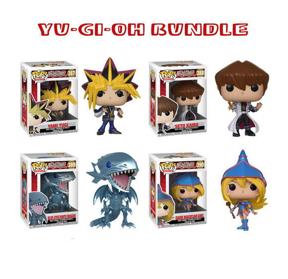Bundle: Pop! Animation: Yu-Gi-Oh - Yu-Gi-Oh Wave 1 Set - Mom's Basement Collectibles