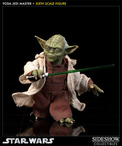 Sideshow Collectibles: Star Wars - Yoda Jedi Master [Pre-Owned] - Mom's Basement Collectibles