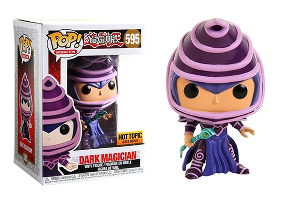 Pop! Animation: Yu-Gi-Oh - Dark Magician (Hot Topic Exclusive) - Mom's Basement Collectibles